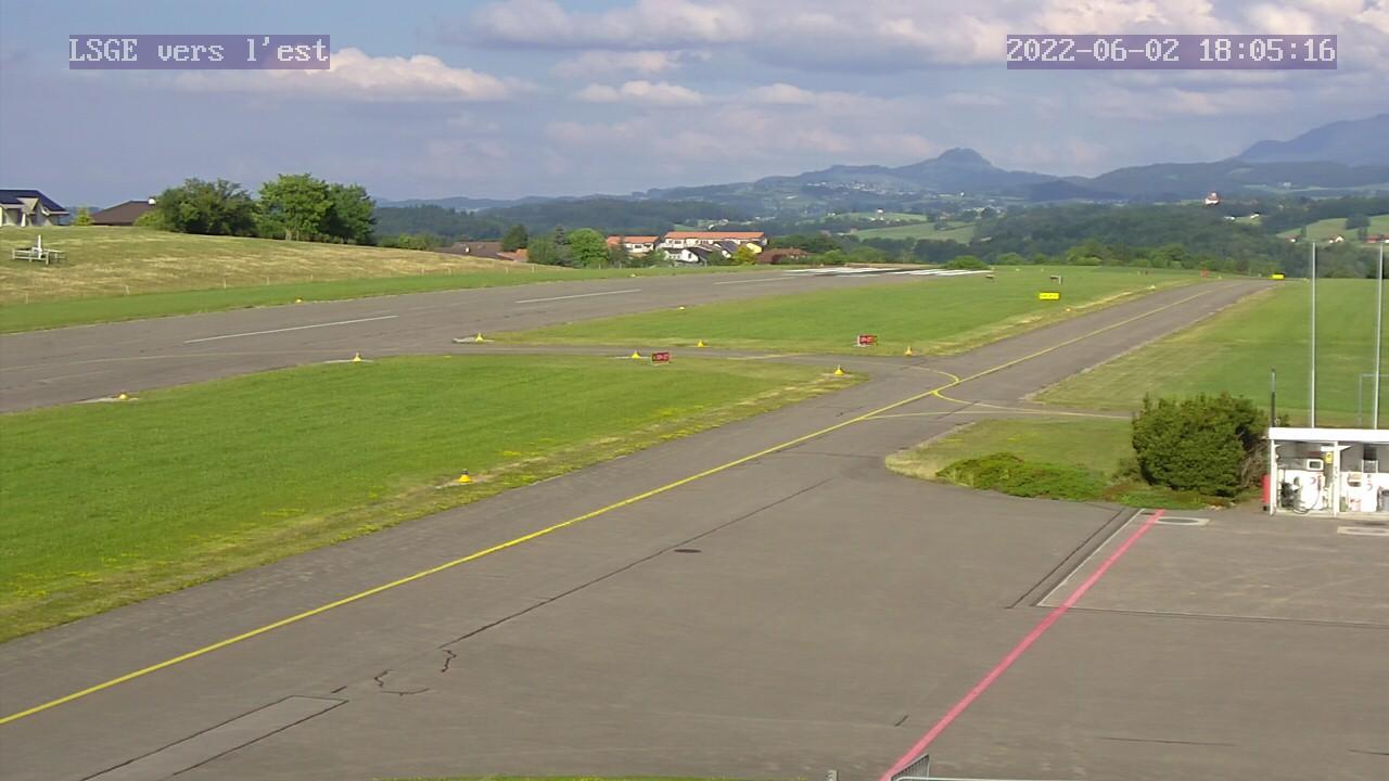 Webcam Aérodrome Fribourg Ecuvillens